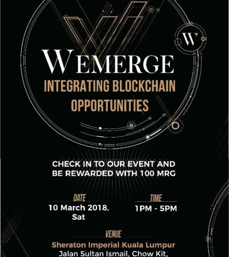 Sponsored: WeMerge Event – INTEGRATING BLOCKCHAIN OPPORTUNITIES; LUNCH, LEARN and FREE TOKENS